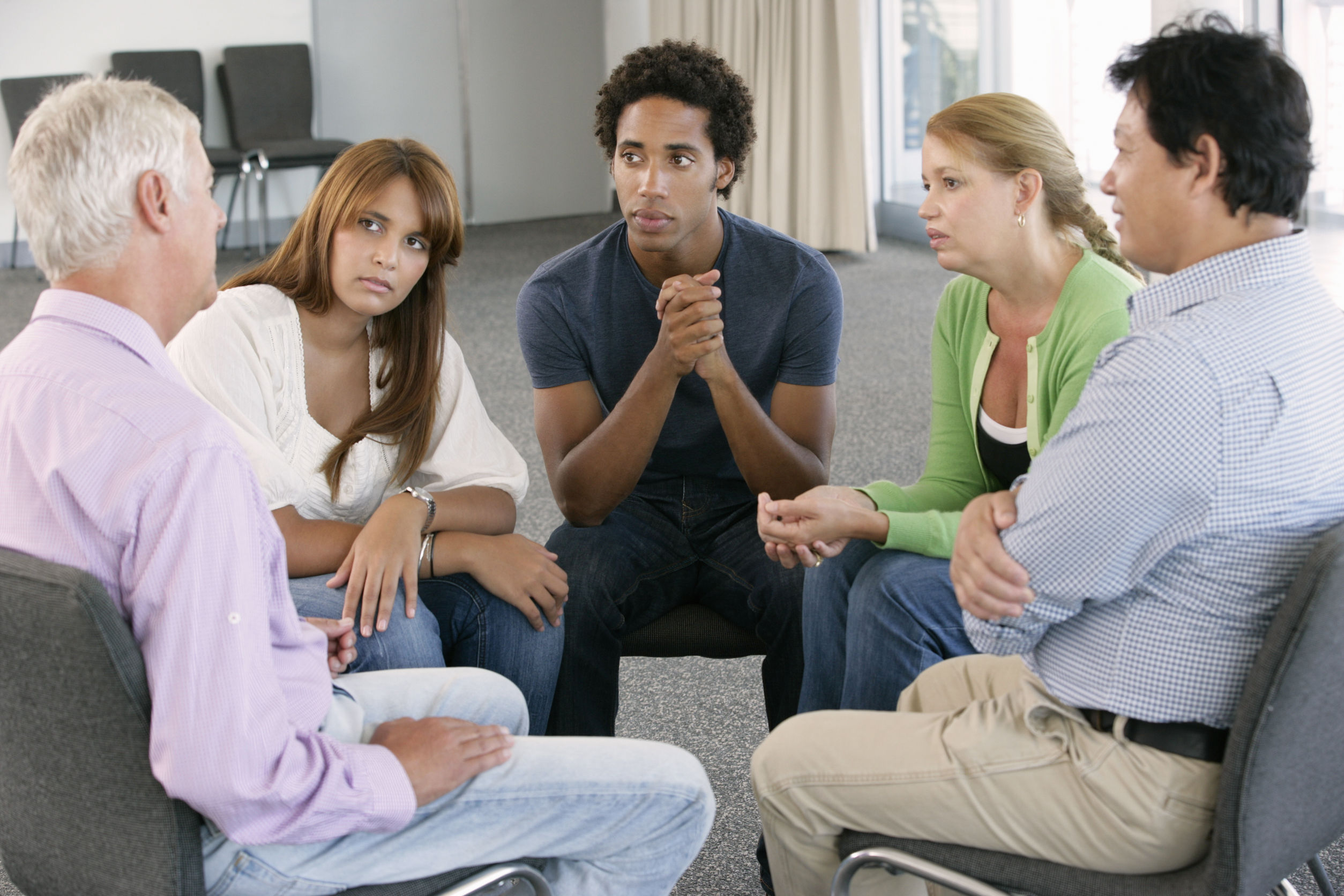 Sex addiction support group